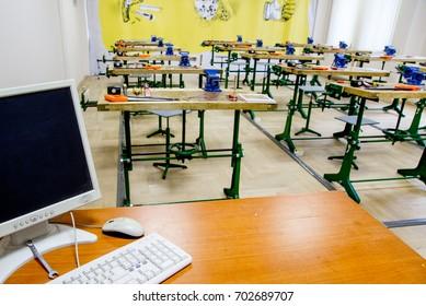 class work at school