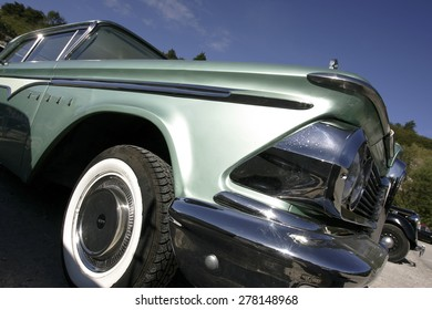 a classic 1950s american car photographed in California, USA. taken 05/10/2014