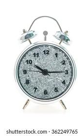 Classic Alarm Clock isolated on white background