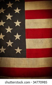 Classic American Flag Background