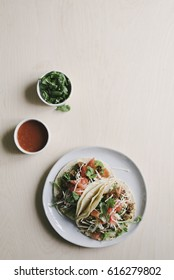 Classic American Ground Beef Soft Tacos
