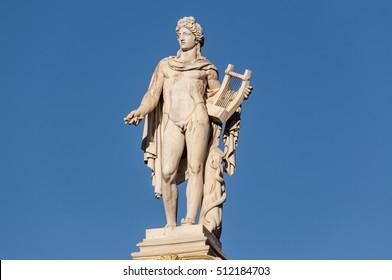 classic Apollo statue