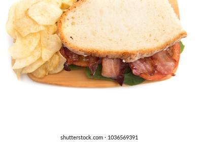 Classic Bacon, Lettuce, and Tomato Sandwich