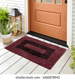 Classic & Beautiful Colorful Woolen & Cotton Doormat For home entrance and bathroom door mat For Interior Decoration