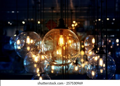 Classic beautiful lighting decoration