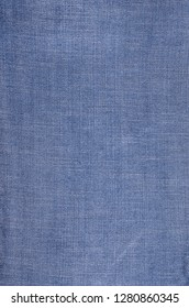 Classic blue denim background. Empty pattern copy space. Selective focus.