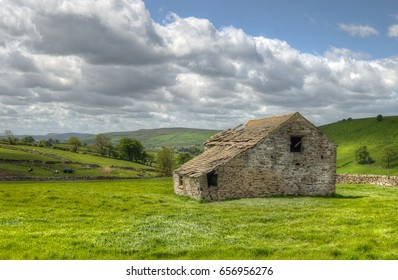 Classic british landscape at the Peak district near Manchester