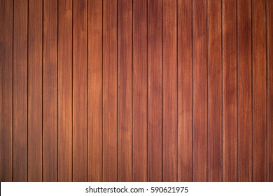 Classic brown wood wall background.