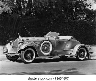 Car Vintage Road Black White Images, Stock Photos & Vectors ...