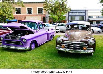 Car Show California Sep Stock Photo Edit Now - Car show paso robles 2018