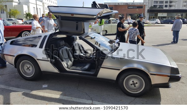 Classic Car Show Miami Florida Usa Stock Photo (Edit Now