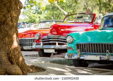 Classic cars in Havana, Cuba