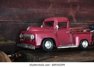 Classic car's model