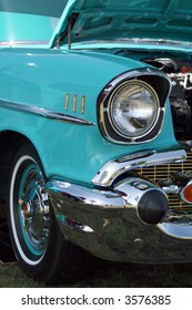 Classic Chevy headlight