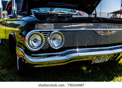 Classic Chevy Impala at Summer Thunder 2015 in Purcellville Virgina