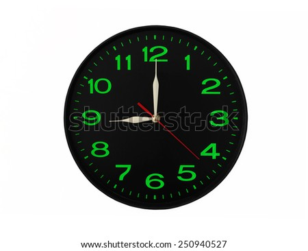 classic-clock-isolated-on-white-450w-250