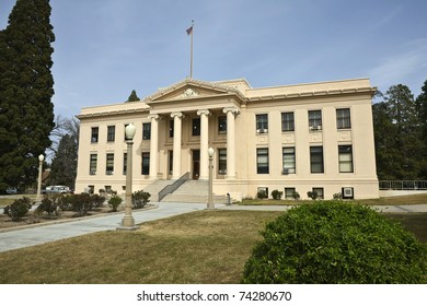 Classic County Courthouse in the Western United States.
