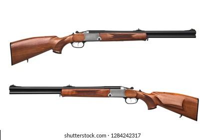 Double Barrel Shotgun Images, Stock Photos & Vectors | Shutterstock