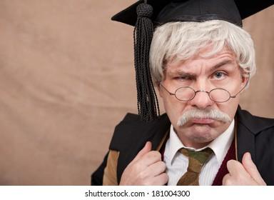 Classic English School Headmaster