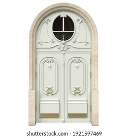 Classic entrance doors for luxury houses