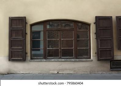 Classic European building restoration