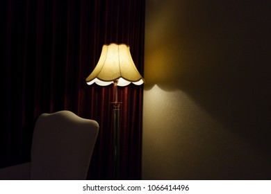 Classic lamp with shady light