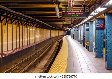 Classic Manhattan subway station