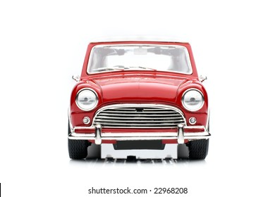 Classic mini model front view