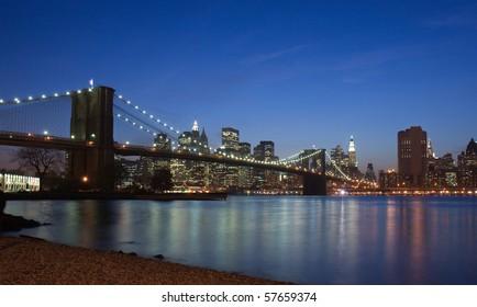 Classic New York City- Brooklyn Bridge