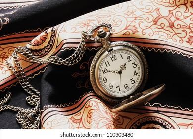 a classic pocket watch