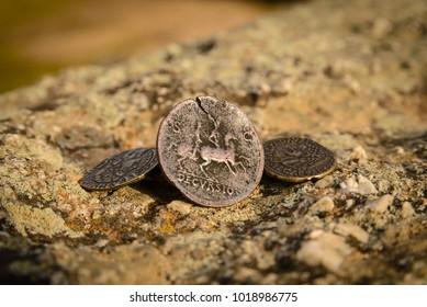 Classic Roman money