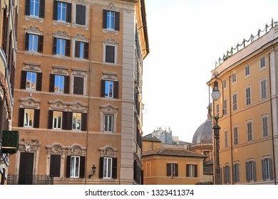 Classic Rome - old style windows and door