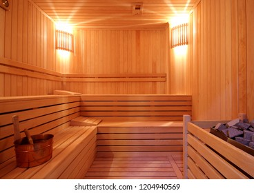 Classic Sauna Room