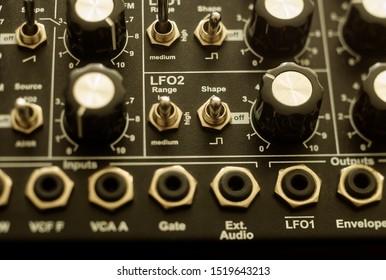 Classic Semi Modular Analogue Synthesizer