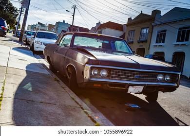 Classic Shabby chic car