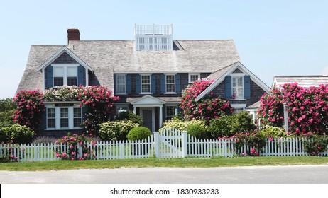 Classic shingled house on Cape Cod