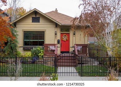 Classic small single-family house