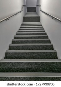 Classic stair with hand rail