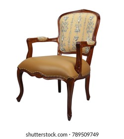 Classic style vintage wooden chair Furniture