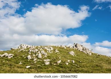 Classic view countryside in Sierra Carape, north of Maldonado Department, Uruguay