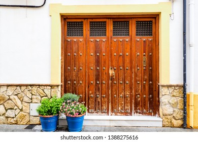 A classic view of door and window in Cordoba.