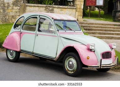 Classic vintage French car