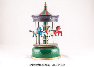 Classic Vintage Style Old Carillon with Horses
