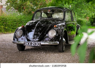 """Classic VW Volkswagen Beetle """"Kafer"""" - Showing its iconic details"""
