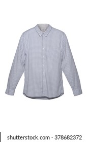 Classic White Grey Shirt with Long Sleeves  Men Fashion