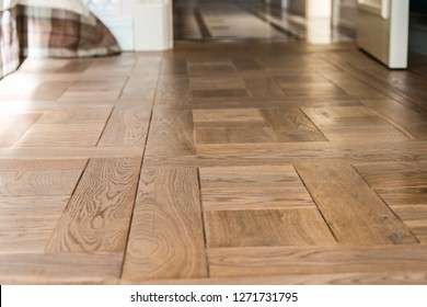 Classic wooden parquet