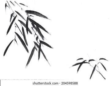 classical China--bamboo