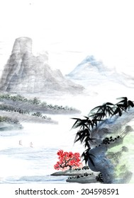 classical China--landscape