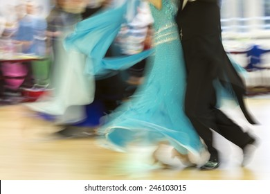 Classical dance competition, detail