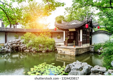 The classical garden of Suzhou, China, is a model of gardening art of the Eastern civilization.
